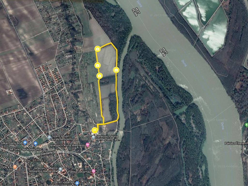 Rácalmási szigetfutás gyerektáv 2,8km
