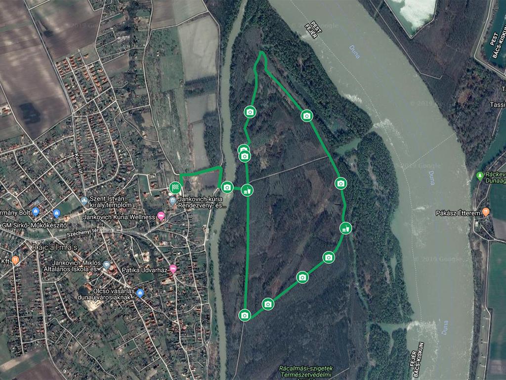Rácalmási szigetfutás 5,5 km