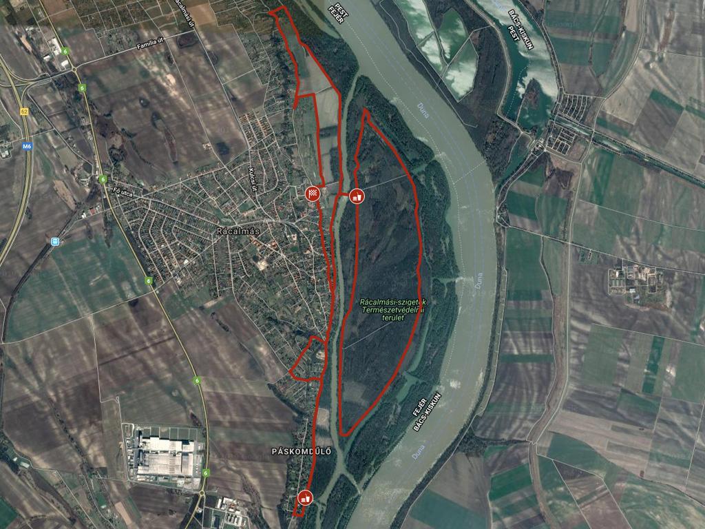 Rácalmási szigetfutás 11 km