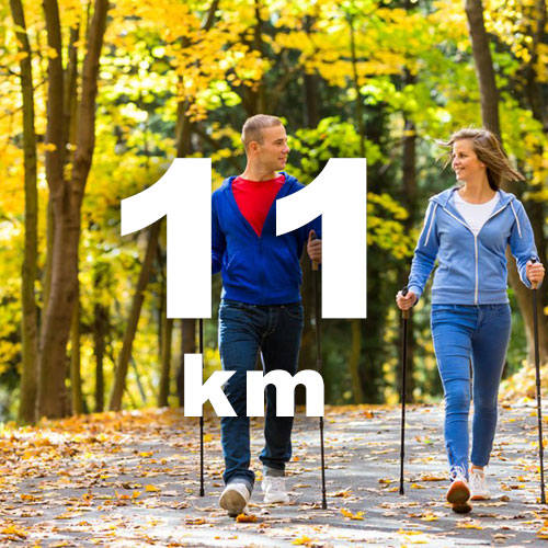 Nordic Walking- és gyalogló táv
