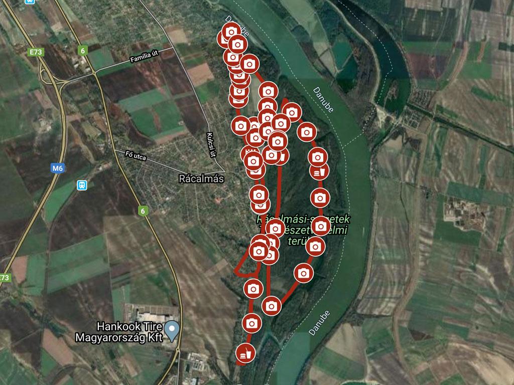 Rácalmási szigetfutás 21 km