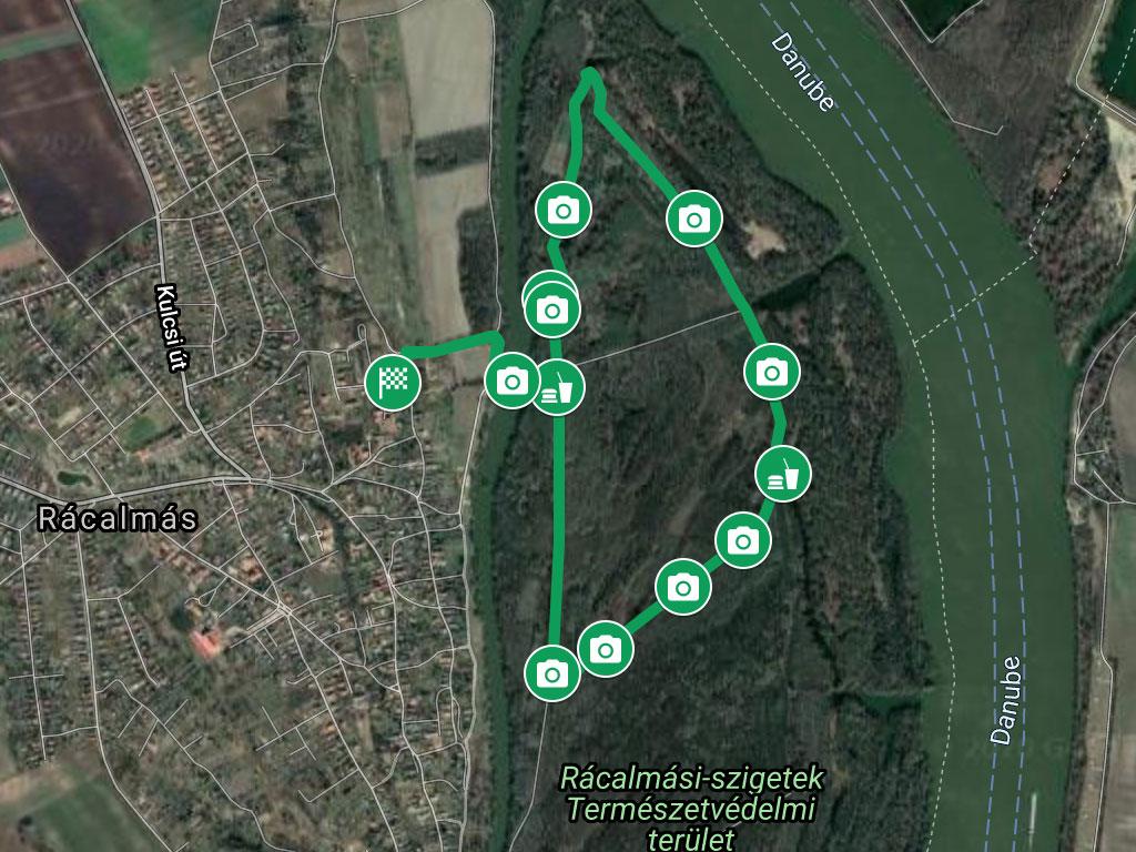 Rácalmási szigetfutás 5 km